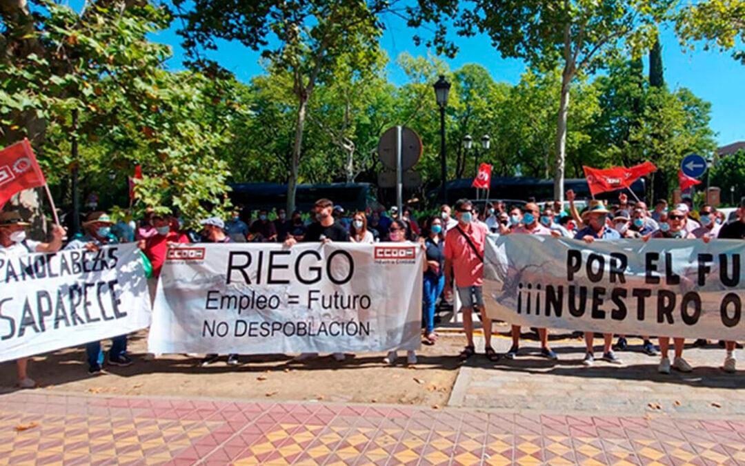 Amenazan con una huelga de hambre: Protesta ante la negativa de la CHG a permitir el almacenamiento de agua en invierno