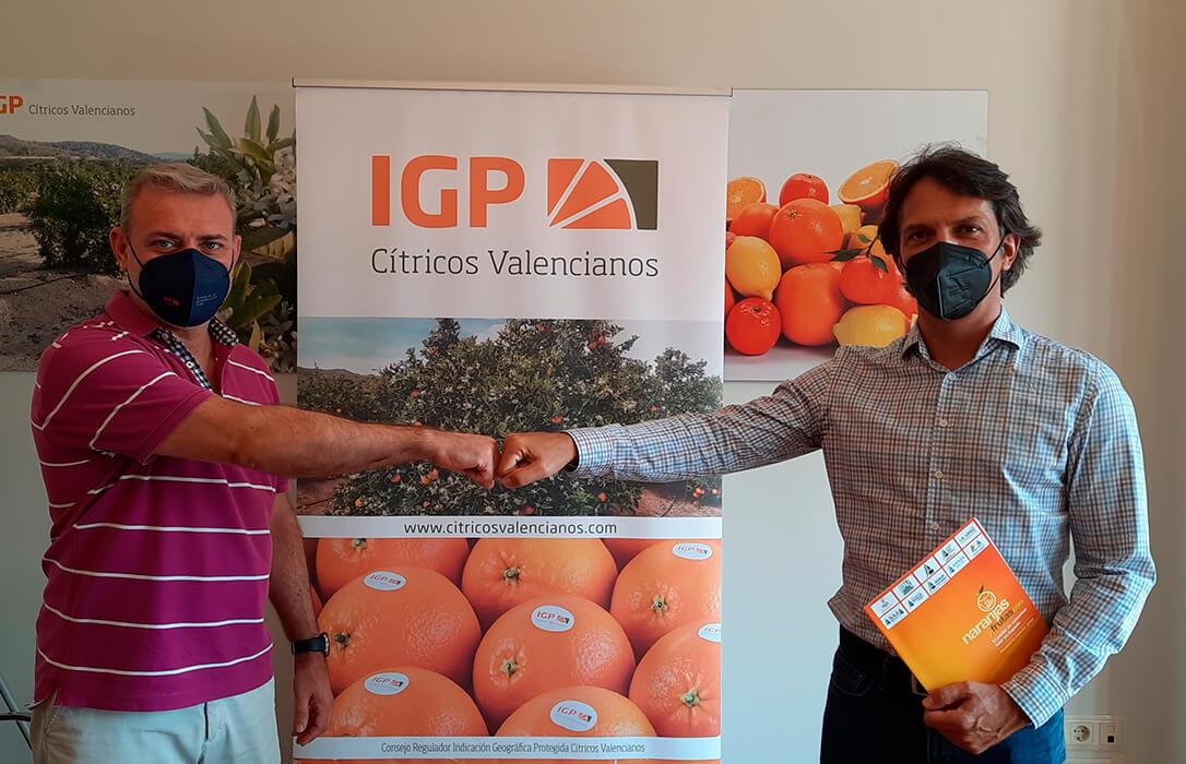 IGP Cítricos Valencianos y Naranjasyfrutas.com unen sus fuerzas para impulsar los cítricos con certificado de origen