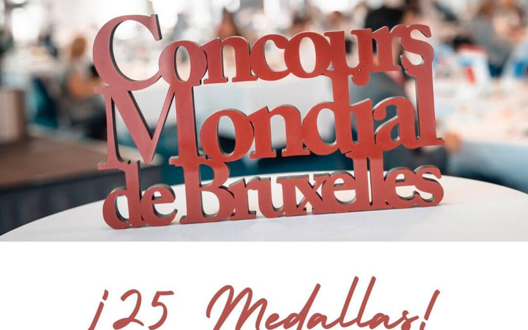 Los vinos de la DO Valencia se traen 25 medallas del Concours Mondial de Bruxelles