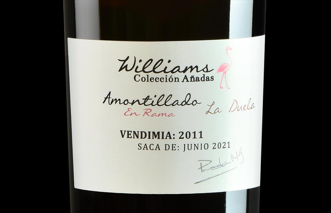Williams & Humbert lanza el Amontillado Añada 2011 La Duela, que alcanza su graduación a 18º de forma natural