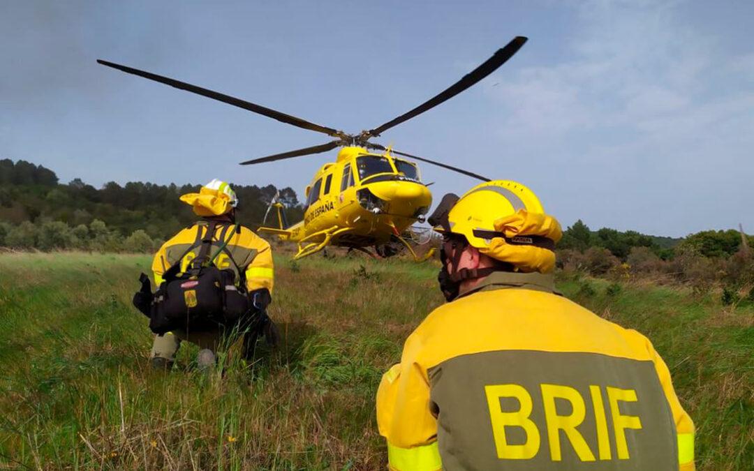 El Gobierno refuerza la dotación de medios para luchar contra los incendios por procedimiento de emergencia