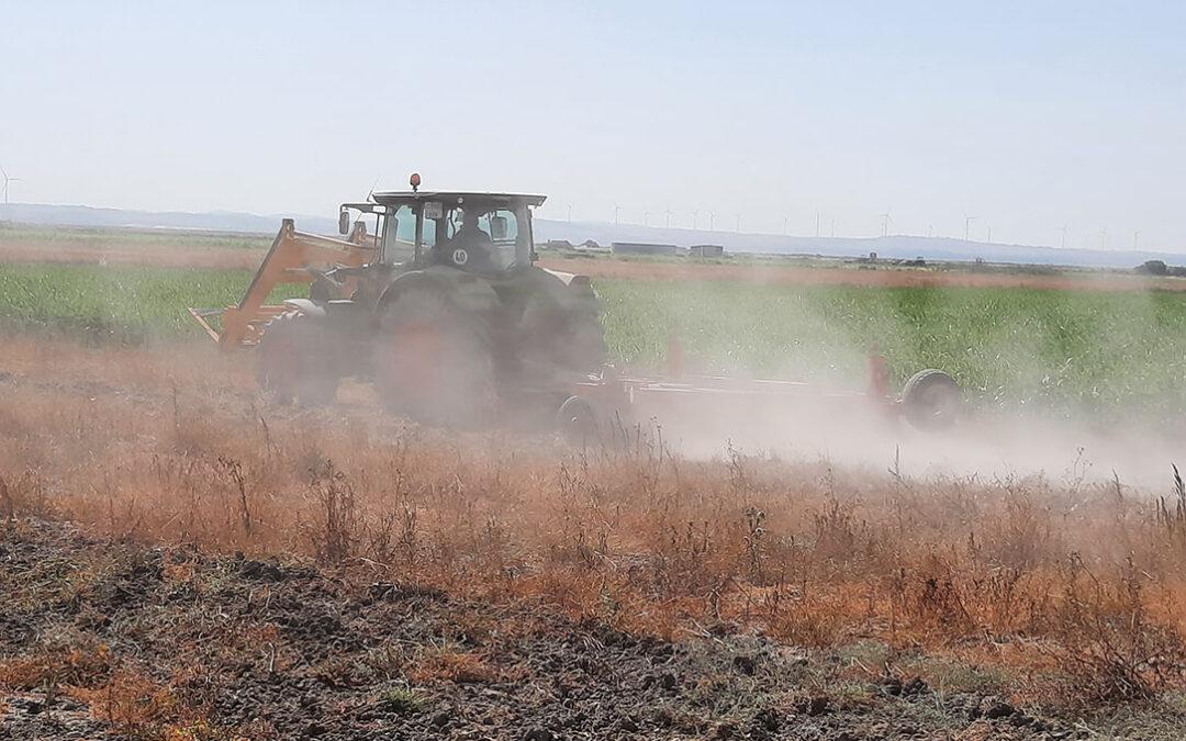 Ola de calor: Castilla y León y la C. Valenciana prohíben el uso de maquinaria agraria; Navarra y Aragón piden precaución