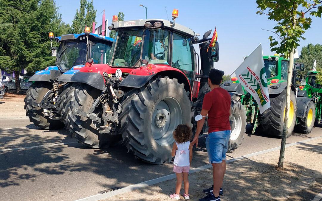 De nuevo los tractores salen a las calles para exigir una PAC exclusivamente para los agricultores profesionales