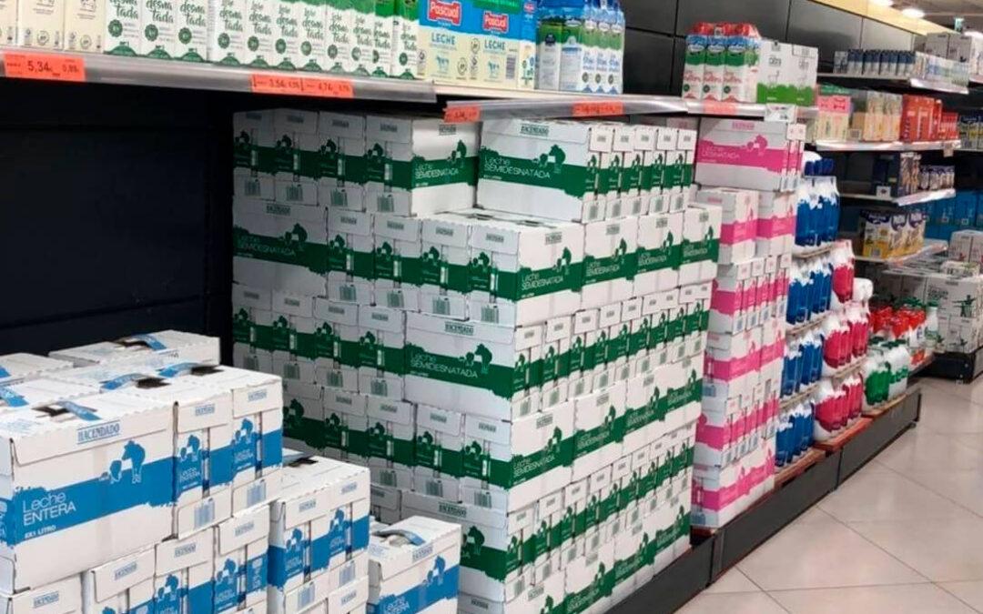 Reacción al precio de la leche en Mercadona: Nadie está contento y lo ven desde positivo a insulto pasando por insuficiente