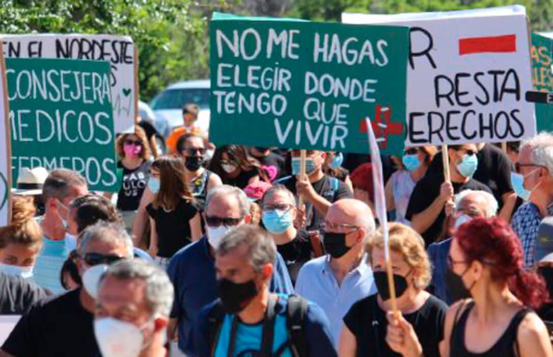 La plataforma Segovia Viva advierte a la Junta de CyL de un clima «prerrevolucionario» por la merma de servicios que padece