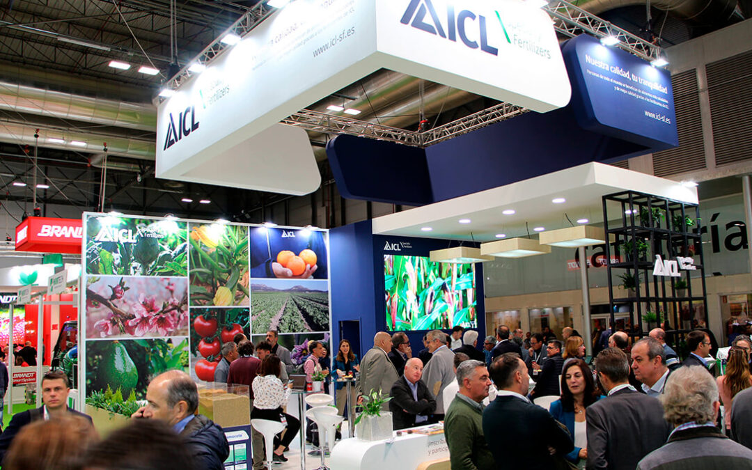 ICL participa en Fruit Attraction 2021 presentando productos de liberación controlada Nova Complex Optima y Polysulphate