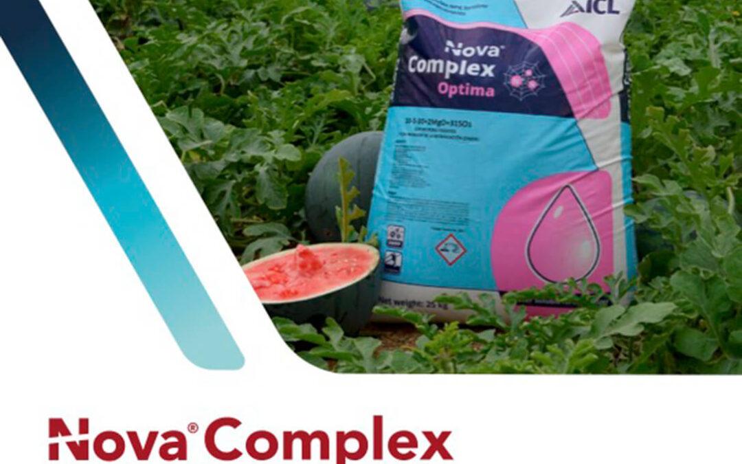 ICL lanza en Fruit Attraction su nuevo catálogo Nova complex Optima, la gama de fertilizantes para zonas vulnerables