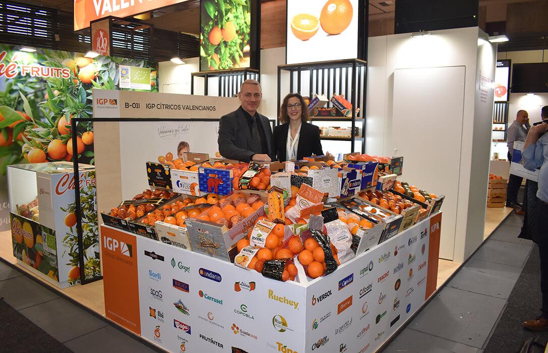 La IGP Cítricos Valencianos participará una edición más en Fruit Attraction con más de 60 operadores registrados
