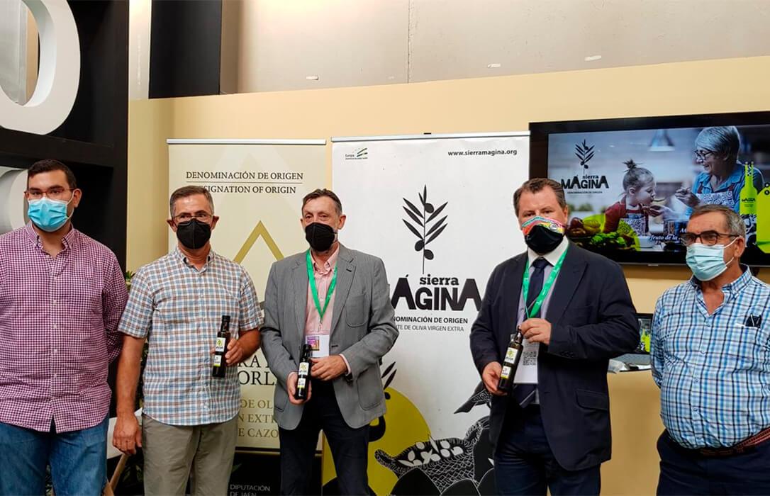 Puesta de largo de la nueva imagen y marca de la Denominación de Origen Sierra Mágina en Expoliva