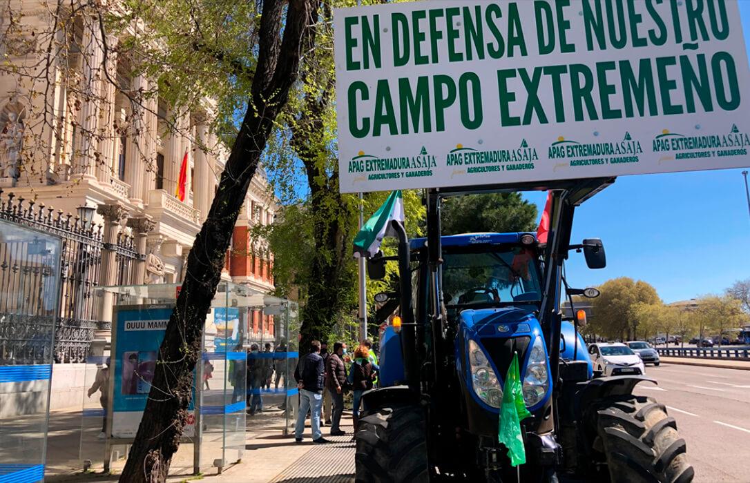Autorizada la acampada de cinco días ante las puertas del Ministerio para revindicar una «Una reforma de la PAC Justa»