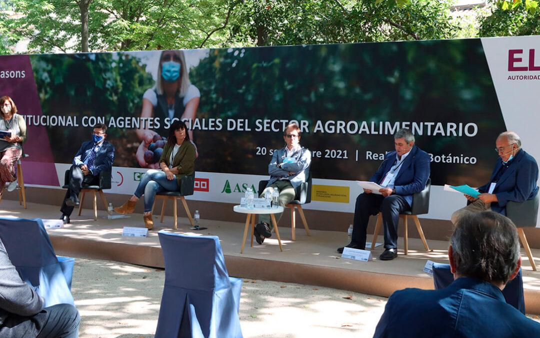 Los pequeños agricultores «somos los principales defensores de los derechos de nuestros trabajadores»