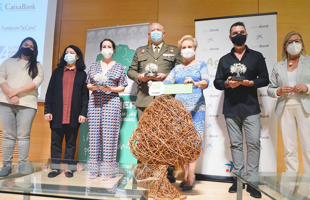 Afammer celebra el Día de la Mujer Rural con sus premios, destacando el de la solidaridad a las Fuerzas Armadas en Kabul