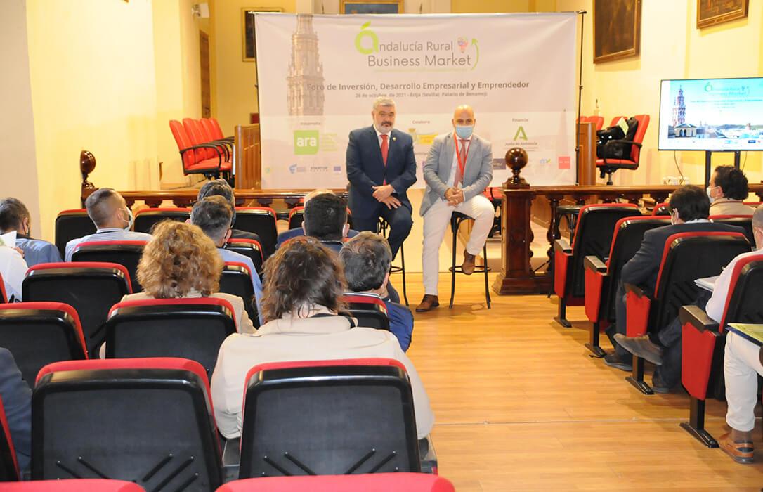 El Foro Andalucía Rural reúne al emprendimiento rural con los fondos y redes de inversión de ámbito nacional e internacional