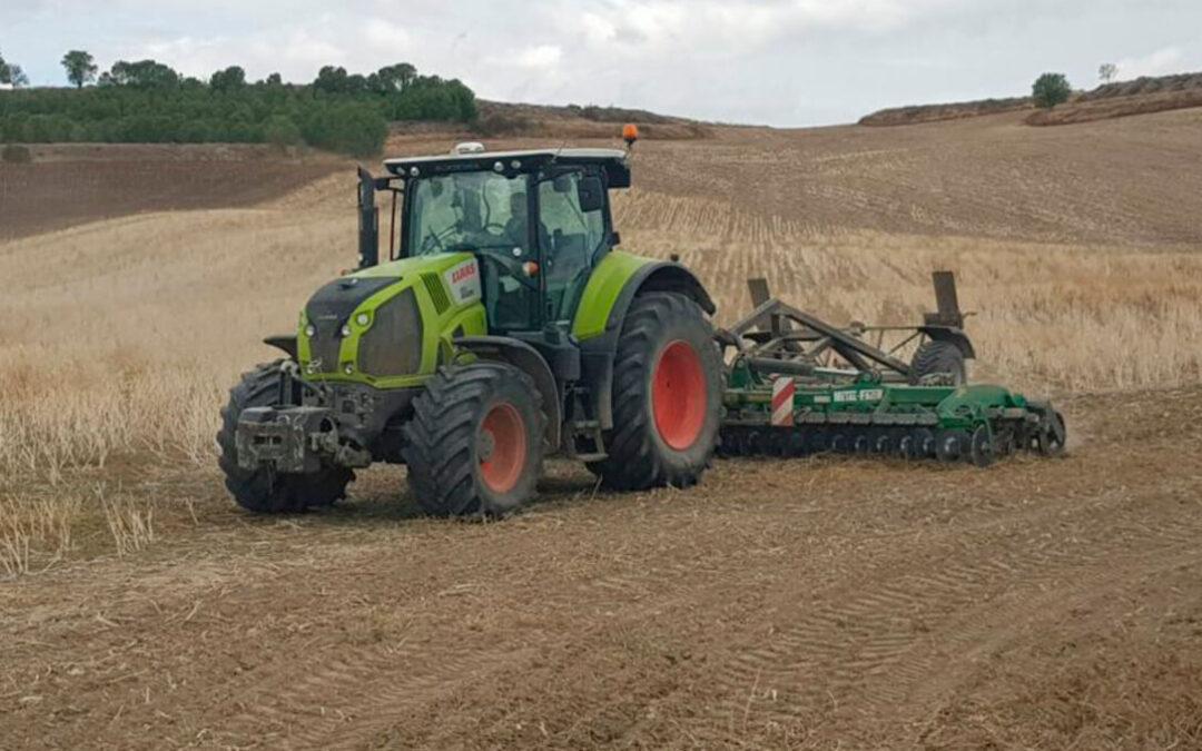 Se disparan los costes en el campo: Solo en abono y gasóleo a una explotación cerealista de 200 ha la sementera costará 8.140 euros más