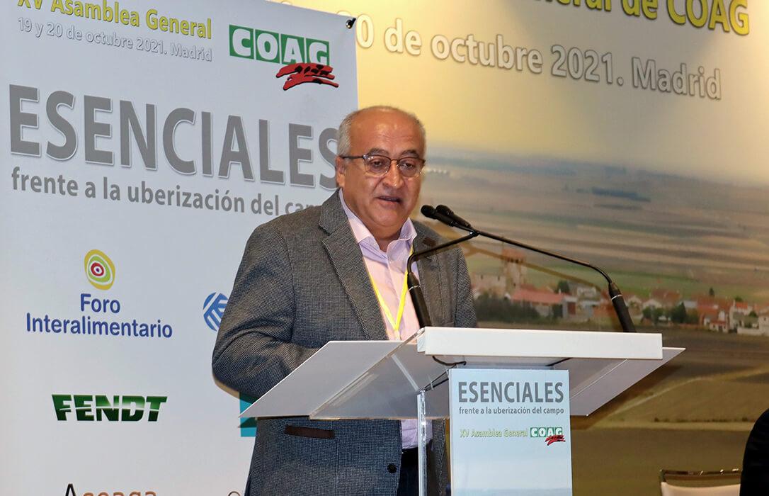 El agricultor murciano Miguel Padilla, elegido nuevo Secretario General de COAG a nivel nacional, contará con tres mujeres en su ejecutiva