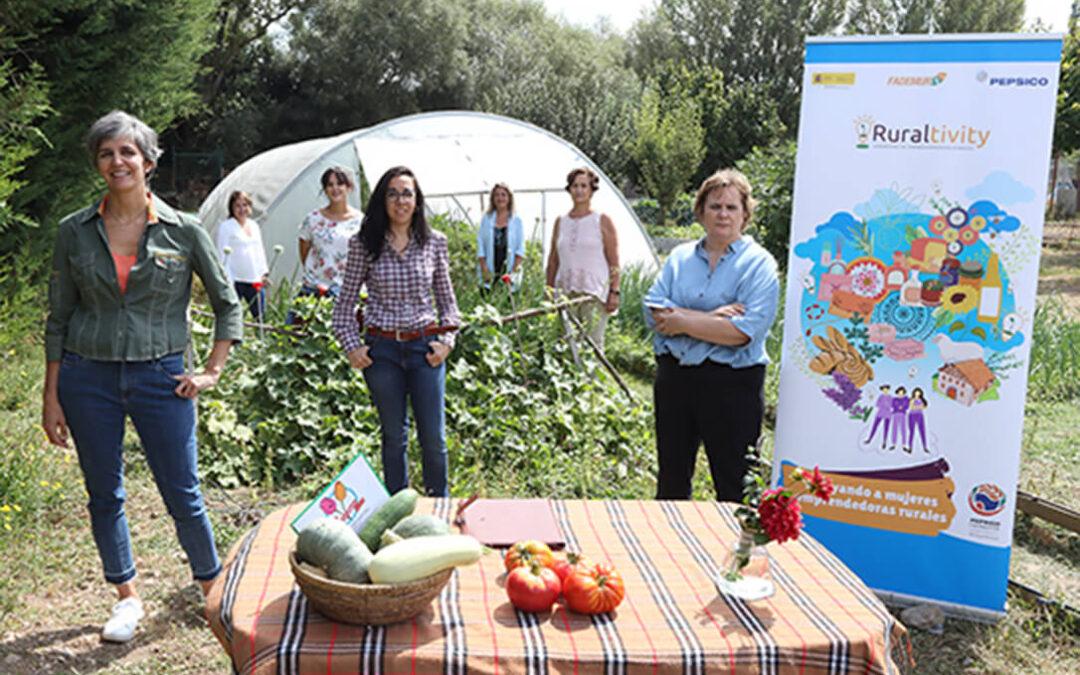 PepsiCo apoyará a miles de mujeres rurales a través de la lanzadera de emprendimiento Ruraltivity de Fademur