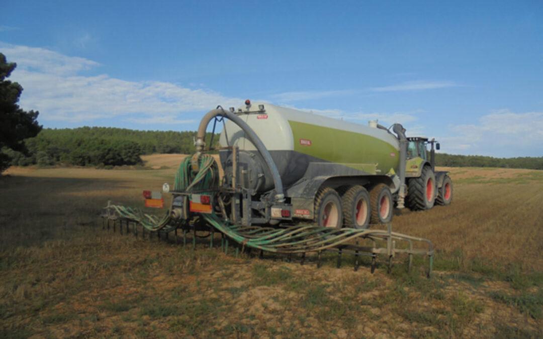 Abogan por utilizar los purines como alternativa para la fertilización de cultivos, ante el incremento de precios de los fertilizantes